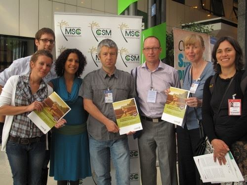 The CIDSE team at CFS39 (Photo CIDSE)