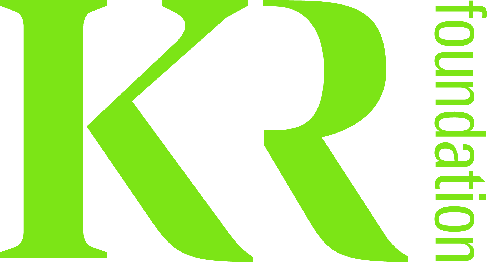 KR foundation logo green