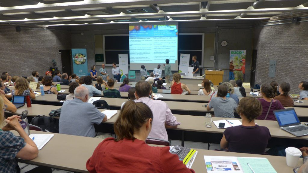 Workshop: Agroecology for a healthy planet