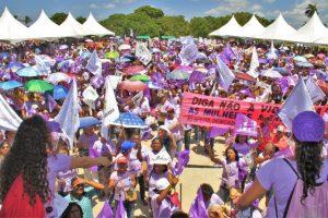 Marsch für das Leben der Frauen und die Agrarökologie