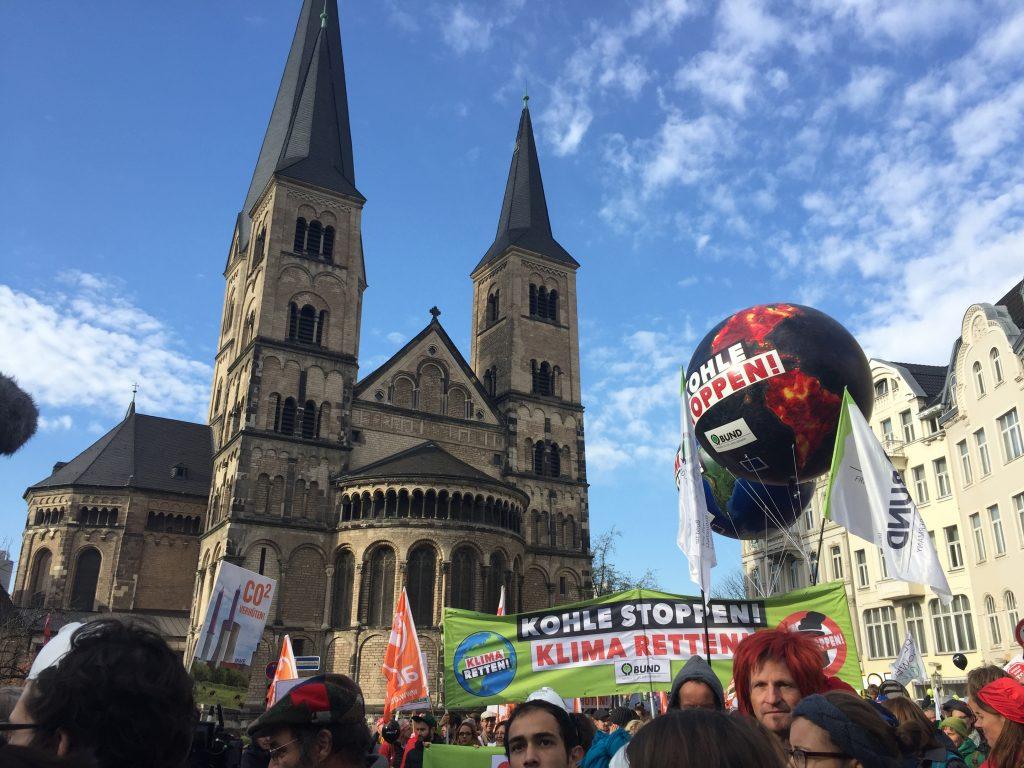 Marche climatique 2017, Bonn, Allemagne