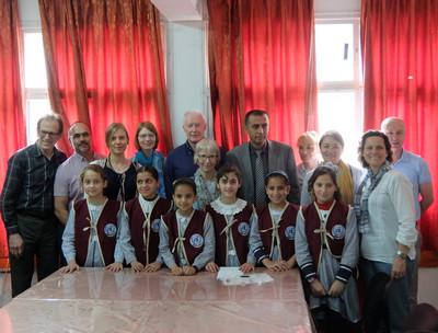 Palestine visit April 2018 group