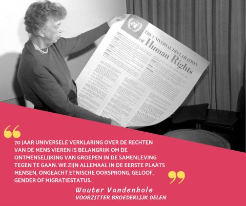 BD 70 jaar mensenrechtenverklaring