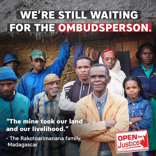 DP still waiting for the ombudsperson
