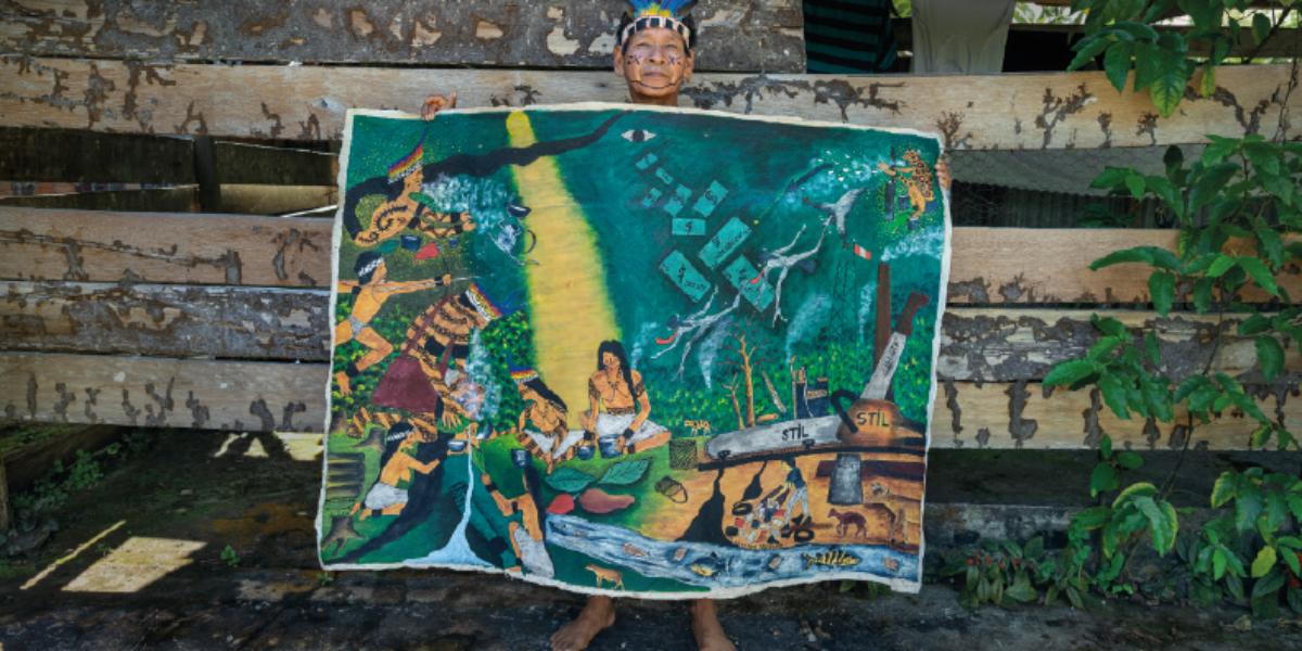 Amazônia frágil - Ana Palacios / CIDSE e REPAM