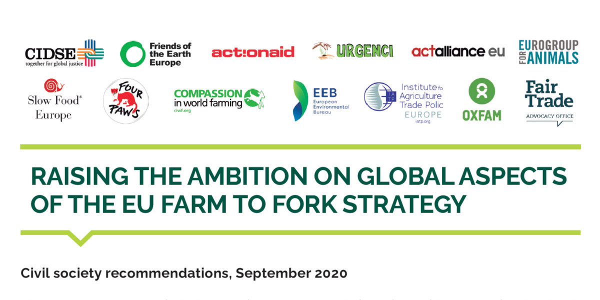 Raising The Ambition On Global Aspects Of The Eu Farm To Fork Strategy Cidse
